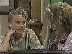 Bronwyn Davies, Madge Bishop in Neighbours Episode 1090