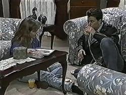 Lee Maloney, Matt Robinson in Neighbours Episode 1090