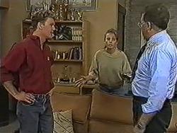 Henry Ramsay, Bronwyn Davies, Harold Bishop in Neighbours Episode 1091