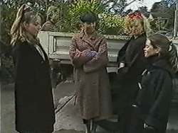 Lee Maloney, Hilary Robinson, Sharon Davies, Lochy McLachlan in Neighbours Episode 1091