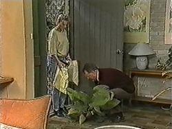 Bronwyn Davies, Harold Bishop in Neighbours Episode 1091