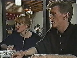 Melanie Pearson, Reverend Richards in Neighbours Episode 1092