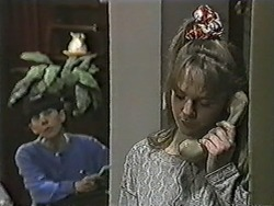 Hilary Robinson, Lee Maloney in Neighbours Episode 1092