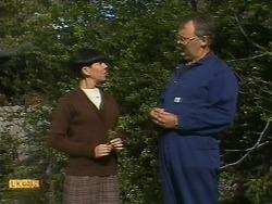 Hilary Robinson, Harold Bishop in Neighbours Episode 1093