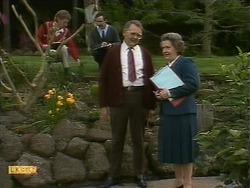 Harold Bishop, Mrs. Edwards in Neighbours Episode 1093
