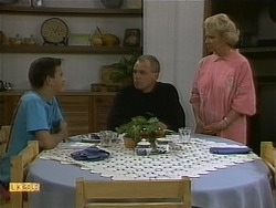 Todd Landers, Jim Robinson, Helen Daniels in Neighbours Episode 1094