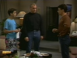 Todd Landers, Jim Robinson, Paul Robinson in Neighbours Episode 1094