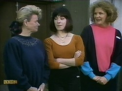 Helen Daniels, Kerry Bishop, Madge Bishop in Neighbours Episode 1096