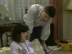 Kerry Bishop, Joe Mangel in Neighbours Episode 1096