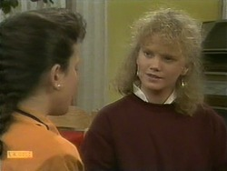 Lucy Robinson, Sharon Davies in Neighbours Episode 1096