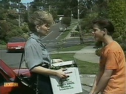 Beverly Robinson, Todd Landers in Neighbours Episode 1097