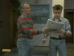 Jim Robinson, Nick Page in Neighbours Episode 1097
