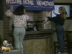 Kerry Bishop, Melanie Pearson in Neighbours Episode 1097