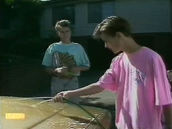 Nick Page, Todd Landers in Neighbours Episode 1097