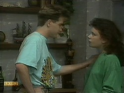 Nick Page, Lucy Robinson in Neighbours Episode 1097