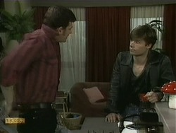 Des Clarke, Mike Young in Neighbours Episode 1098