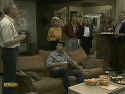 Jim Robinson, Helen Daniels, Joe Mangel, Henry Ramsay, Bronwyn Davies, Madge Bishop, Harold Bishop in Neighbours Episode 1098