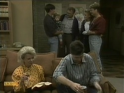 Helen Daniels, Mike Young, Jamie Clarke, Harold Bishop, Joe Mangel, Bronwyn Davies, Henry Ramsay in Neighbours Episode 1098