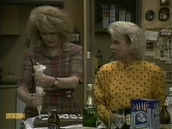 Madge Bishop, Helen Daniels in Neighbours Episode 1098
