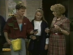 Henry Ramsay, Bronwyn Davies, Madge Bishop in Neighbours Episode 1098