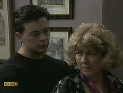 Matt Robinson, Mrs. Maloney in Neighbours Episode 1099