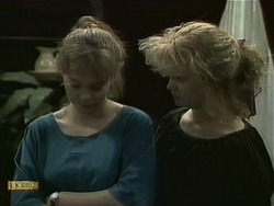 Lee Maloney, Sharon Davies in Neighbours Episode 1099