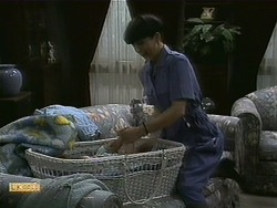 Baby Rhys, Hilary Robinson in Neighbours Episode 1100