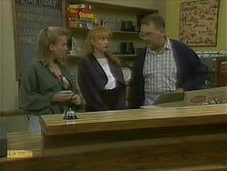 Bronwyn Davies, Melanie Pearson, Harold Bishop in Neighbours Episode 1101