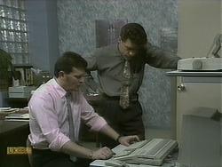 Des Clarke, Paul Robinson in Neighbours Episode 1101