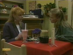 Melanie Pearson, Harold Bishop, Bronwyn Davies in Neighbours Episode 1101