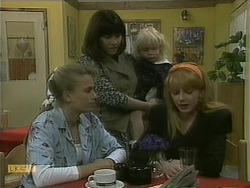 Bronwyn Davies, Kerry Bishop, Sky Mangel, Melanie Pearson in Neighbours Episode 1102