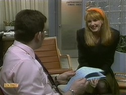 Des Clarke, Melanie Pearson in Neighbours Episode 1102