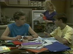 Nick Page, Sharon Davies, Todd Landers in Neighbours Episode 1103