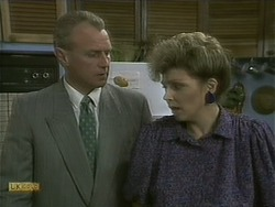 Jim Robinson, Beverly Robinson in Neighbours Episode 1103