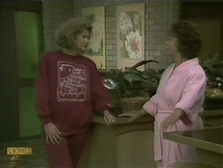 Madge Bishop, Gloria Lewis in Neighbours Episode 1104