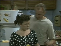 Lucy Robinson, Jim Robinson in Neighbours Episode 1104