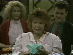 Madge Bishop, Gloria Lewis, Paul Robinson in Neighbours Episode 1104