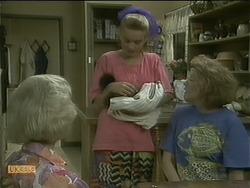 Helen Daniels, Bronwyn Davies, Madge Bishop in Neighbours Episode 1105