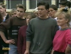 Nick Page, Lee Maloney, Matt Robinson, Sharon Davies in Neighbours Episode 1106