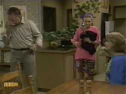 Harold Bishop, Bronwyn Davies, Madge Bishop in Neighbours Episode 1106