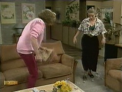 Madge Bishop, Bronwyn Davies in Neighbours Episode 1106