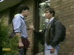 Matt Robinson, Mike Young in Neighbours Episode 1107
