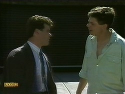 Paul Robinson, Joe Mangel in Neighbours Episode 1108