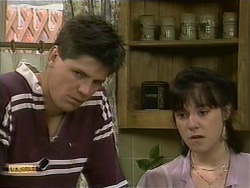 Joe Mangel, Kerry Bishop in Neighbours Episode 1109