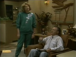 Madge Bishop, Harold Bishop in Neighbours Episode 1109