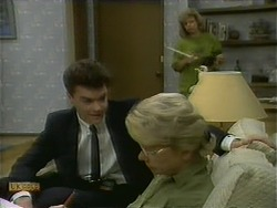 Paul Robinson, Helen Daniels, Beverly Marshall in Neighbours Episode 1110