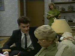 Paul Robinson, Helen Daniels, Beverly Robinson in Neighbours Episode 1110