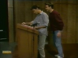 Todd Landers, Nick Page in Neighbours Episode 1110