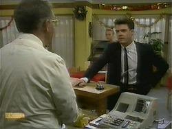 Harold Bishop, Bronwyn Davies, Paul Robinson in Neighbours Episode 1110