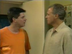 Joe Mangel, Jim Robinson in Neighbours Episode 1110